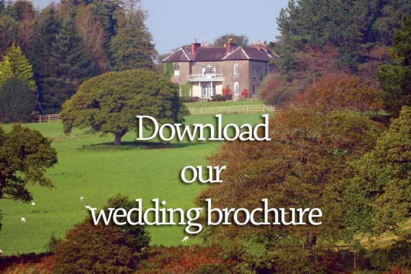 Weddings brochure for Boulston Manor, Haverfordwest, Pembrokeshire